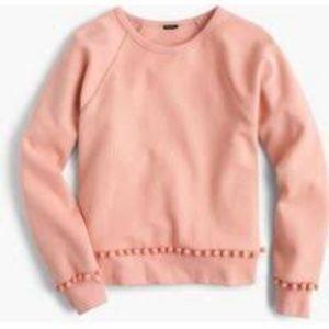 J CREW  Pom-pom sweatshirt